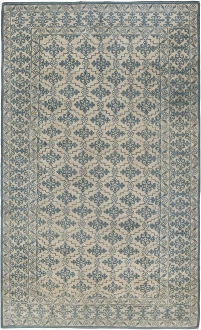 Antique Indiann Cotton Agra Rug