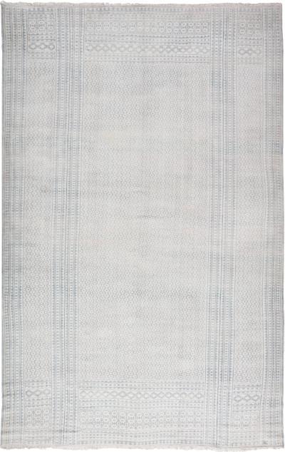 Antique Indiann Cotton Flat Weave Carpet