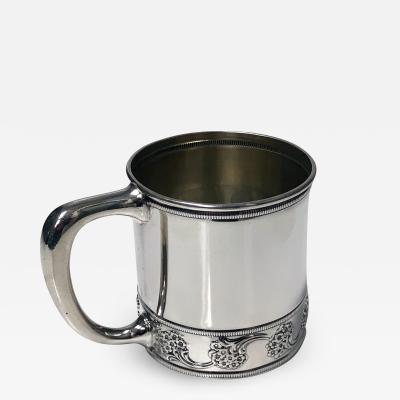 Antique J E Caldwell Sterling Silver Cup C 1900