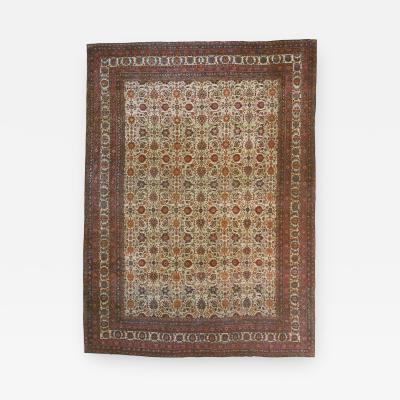 Antique Kerman Persian Rug