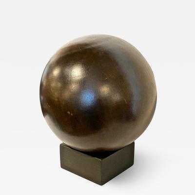 Antique Lignum Vitae Bowling Ball