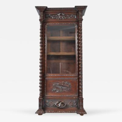 Antique Louis XIII Bookcase