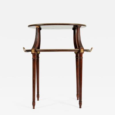 Antique Louis XVI Style Bronze Mounted Dessert Table