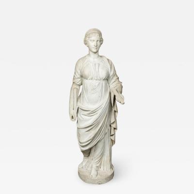 Antique Marble Sculpture of Juno