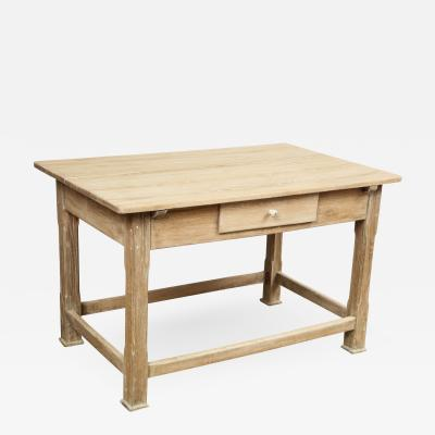 Antique Oak Work Table