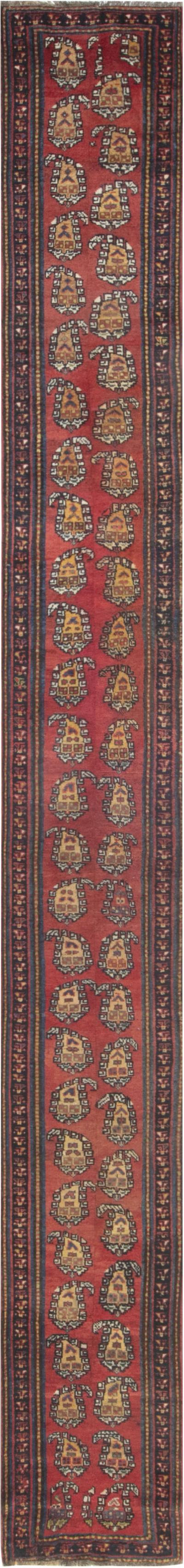 Antique Persian Bakhtiari runner Fragment