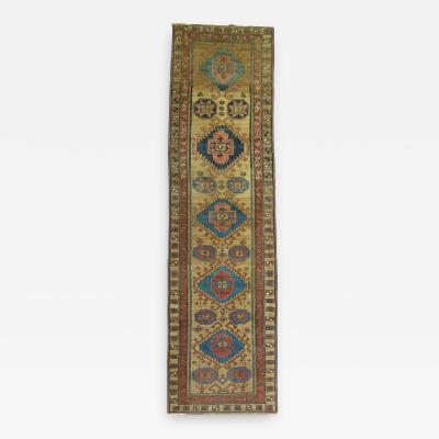 Antique Persian Bakshaish Runner rug no 8521