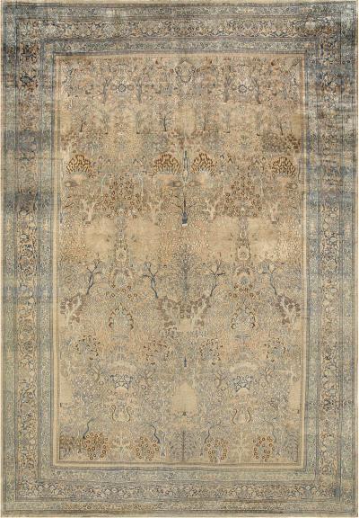 Antique Persian Khorassan Carpet