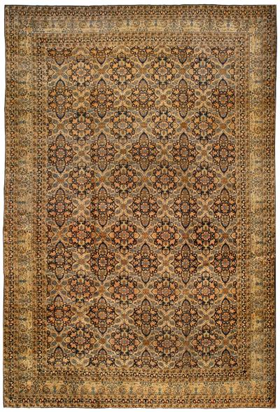 Antique Persian Kirman Rug