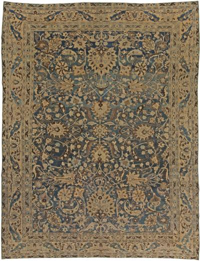 Antique Persian Meshad Rug