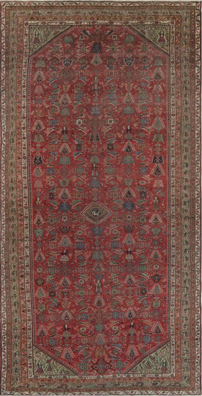 Antique Persian Rug Feraghan