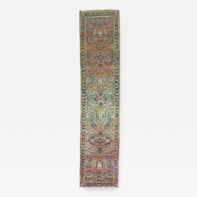 Antique Persian Sarouk Runner rug no j1095