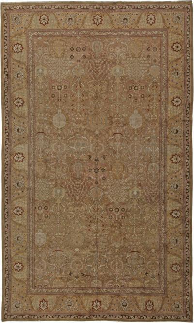 Antique Persian Tabriz Rug Bb5703 Antiques