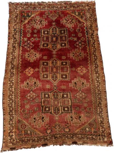 Antique Qashqai Shiraz Rug