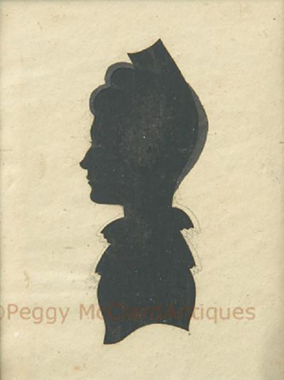Antique Silhouette Woman