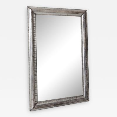 Antique Silver Frame With Mirror