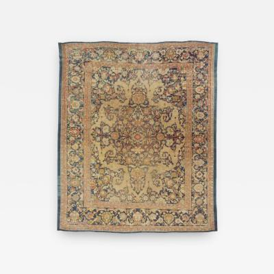 Antique Sultanabad Mahal Rug