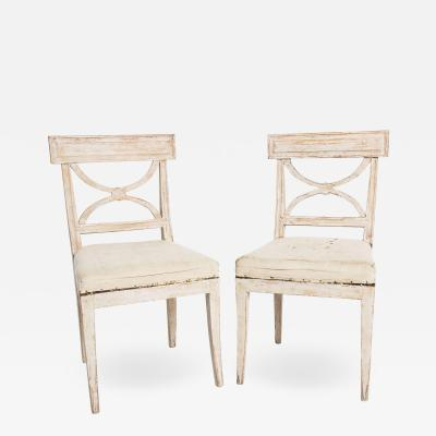 Antique Swedish Karl Johan Chairs