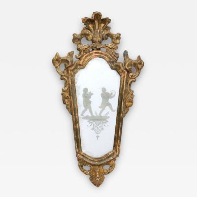 Antique Venetian Mirror Circa 1760