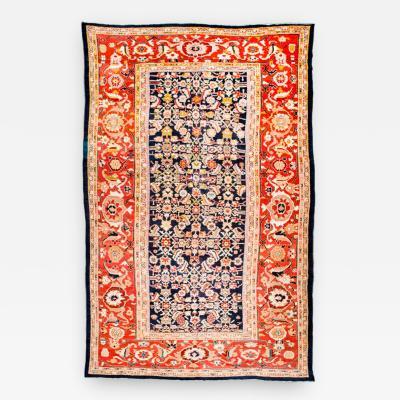 Antique Ziegler Rug Classic Persian Design circa 1890