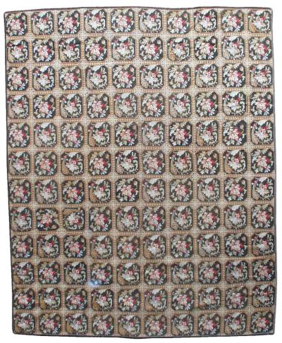 Antique needlepoint Rug