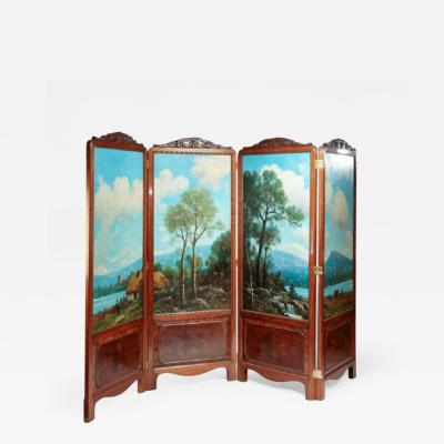 Antique screen Gillow style