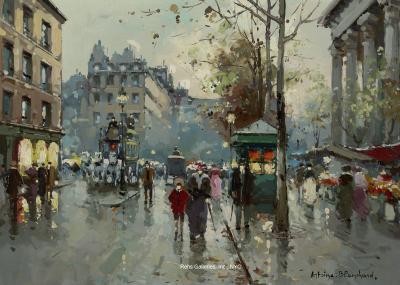 Antoine Blanchard Place de la Madeleine