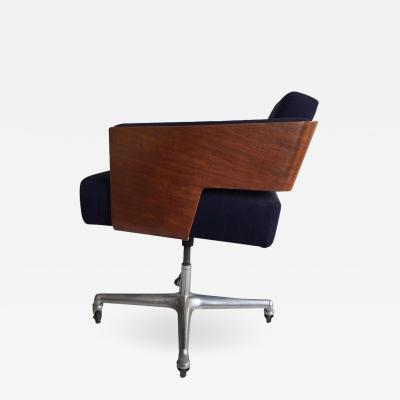 Antoine Philippon Jacqueline Lecoq Rare Comfort Office Chair Designed Antoine Philippon and Jacqueline Lecoq