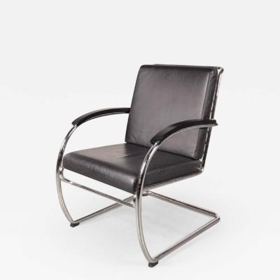 Anton Lorenz 1980s Easy Chair Model KS46 by Anton Lorenz for Thonet Germany