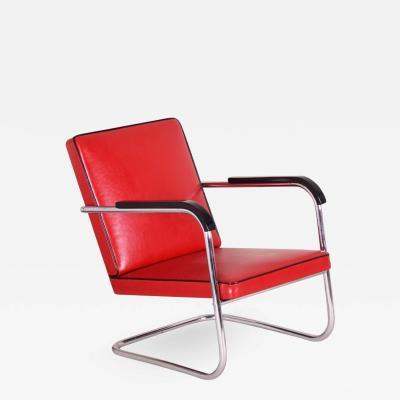 Anton Lorenz 20th century Art Deco German Armchair