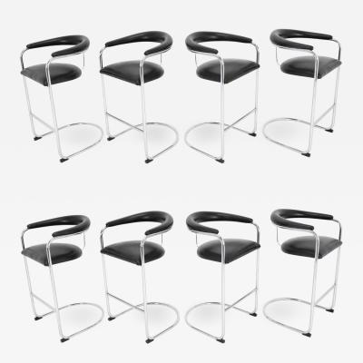 Anton Lorenz Anton Lorenz for Thonet Bar Stools