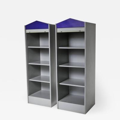 Antonia Astori Set of Two Aleph Aforismi Cabinets by Antonia Astori for Driade