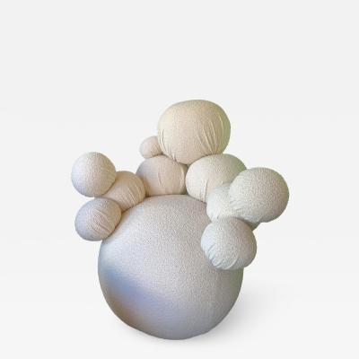 Antonio Cagianelli Contemporary Sculpture Armchair Atomo by Antonio Cagianelli Italy