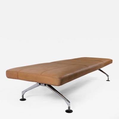Antonio Citterio Antonio Citterio Leather Daybed Bench for Vitra Germany c 1989