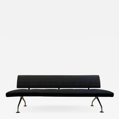 Antonio Citterio Italian Antonio Citterio for VITRA Modern 3 Seater Sofa in Cast Aluminum 1990s