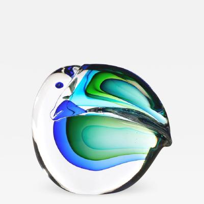 Antonio Da Ros Large Murano Glass Toucan