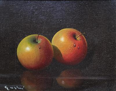 Antonio Gusini Still Life with Apples