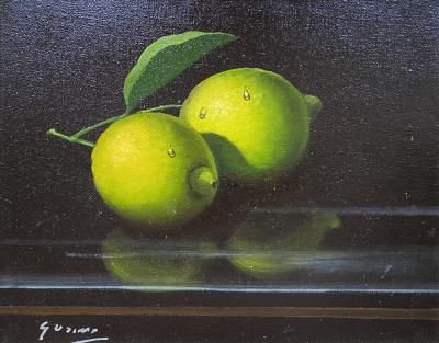 Antonio Gusini Still Life with Limes