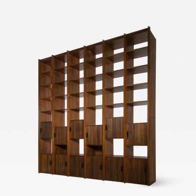 Antonio Ignazio Faranda Custom Made Bookcase by Antonio Ignazio Faranda