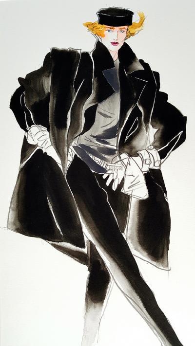 Antonio Lopez Vogue Magazine Fashion Illustration Stephen Sprouse