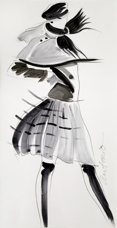 Antonio Lopez Vogue Magazine Perry Ellis