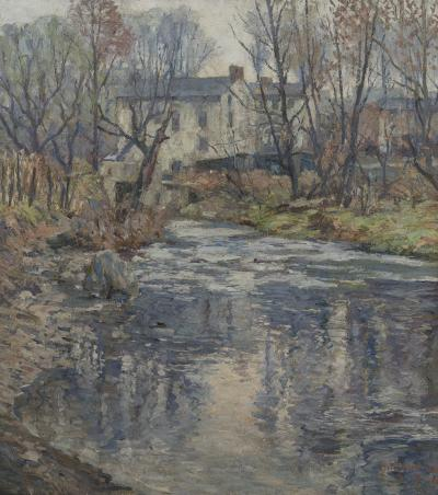 Antonio Pietro Martino The Mill Stream