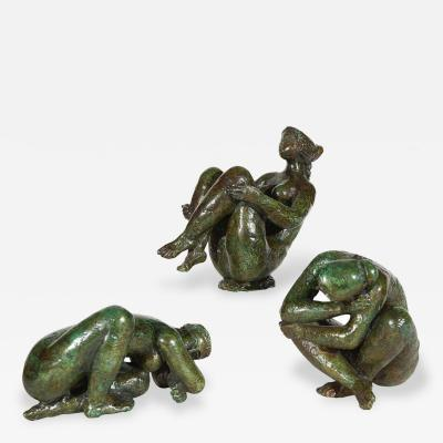 Antoniucci Volti Three Limited Edition Bronze Figures by Antoniucci Volti