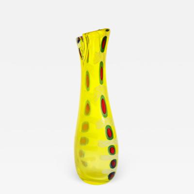 Anzolo Fuga Anzolo Fuga Hand Blown Murrine Incantante Vase ca 1959