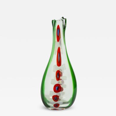 Anzolo Fuga Anzolo Fuga Murrine Incatente Vase ca 1959