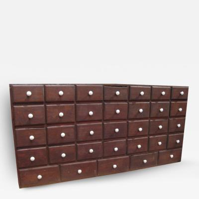 Apothecary Cabinet w 33 Drawers