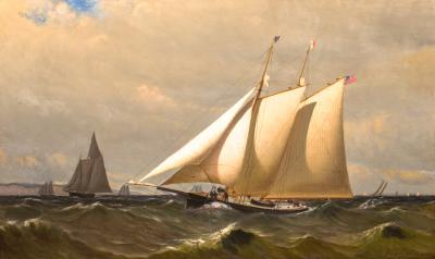 Archibald Cary Smith New York Yacht Club Schooner CLIO