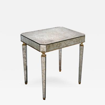 Archibald Taylor An American Rectangular Mirrored Side Table by Archibald Taylor