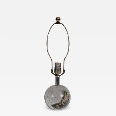 Archimede Seguso Archimede Seguso Petite Bullicante Bubble Ball Table Lamp 1940s