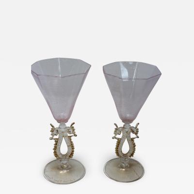 Archimede Seguso Archimede Seguso Wine Glasses